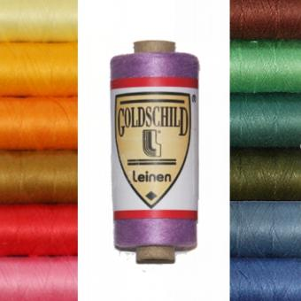 Goldschild Linen Yarn - Colored - NeL 66/3