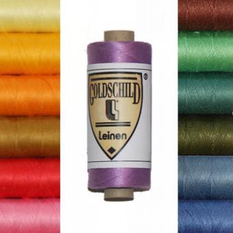 Goldschild Leinengarn - farbig - NeL 80/3