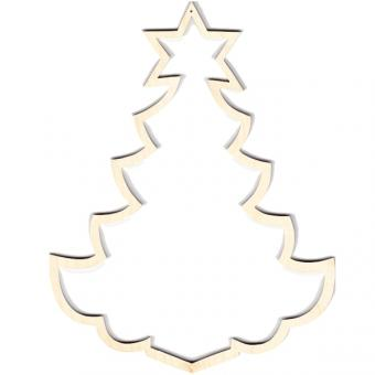 Wooden Frame Christmas Tree