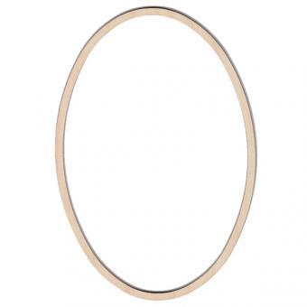 Wooden Frame Oval