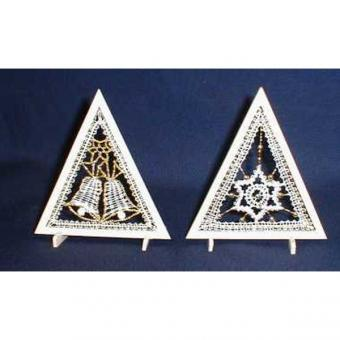 Wooden Frame Mini Triangle