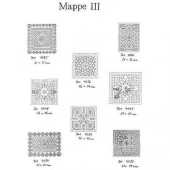 Ostmark Klöppelschätze Mappe 3