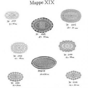 Ostmark Klöppelschätze Mappe 19