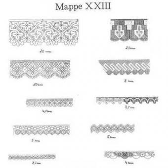 Ostmark Klöppelschätze Mappe 23