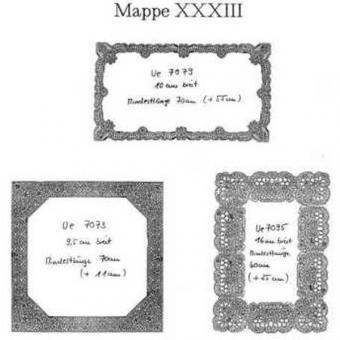 Ostmark Klöppelschätze Mappe 33