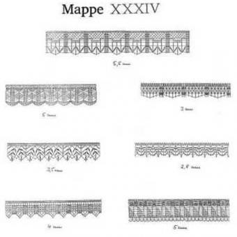 Ostmark Klöppelschätze Mappe 34