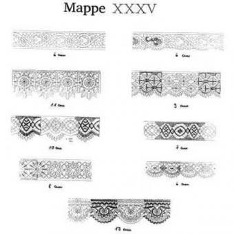 Ostmark Klöppelschätze Mappe 35