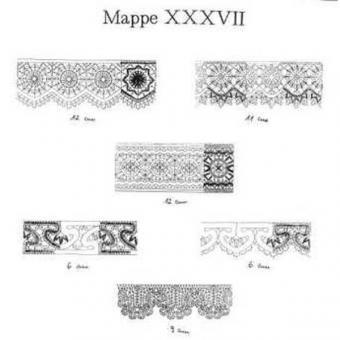 Ostmark Klöppelschätze Mappe 37