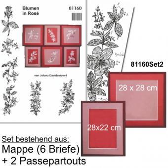 Blumen in Rosé SET-ANGEBOT