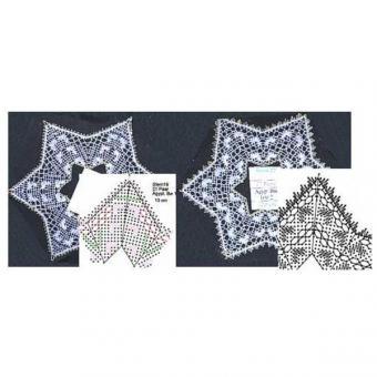 Klöppelbrief Sterne 19 + 22