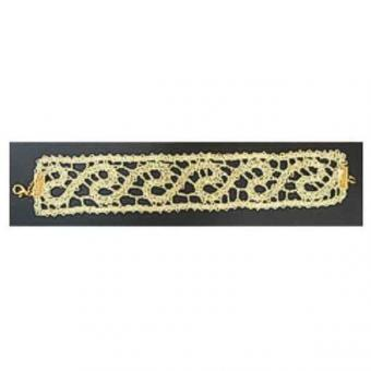 Klöppelbriefe Armband