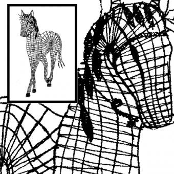 Pattern Horse