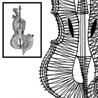 Pattern Violine