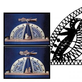 Klöppelbriefe für Minibogen