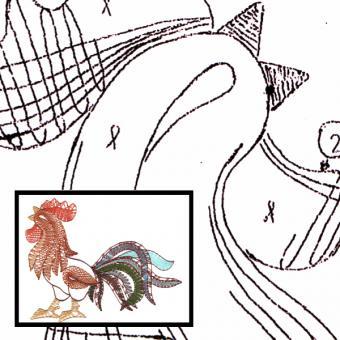 Pattern Cock