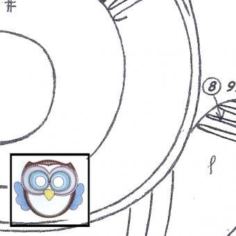 Pattern Owl 1