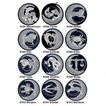 Patterns Zodiac Signs Set (Ø: 12 cm)