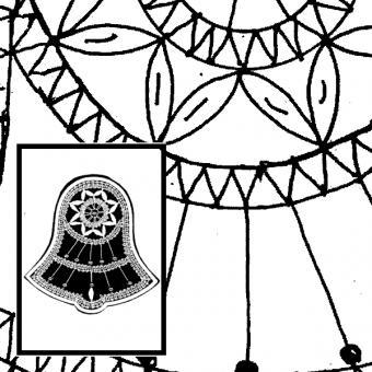 Klöppelbrief Glocken (Gr. 3)