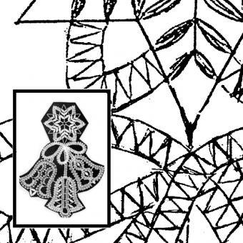 Klöppelbrief Glockenspiel