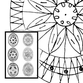 Pattern Easter Treasure