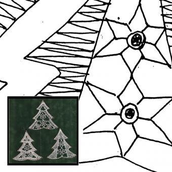 Klöppelbrief Tannenbaum 2