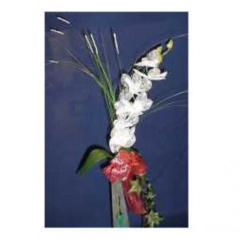 Blumenstiel kleine Orchidee