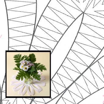 Blütendeckchen Gänseblümchen