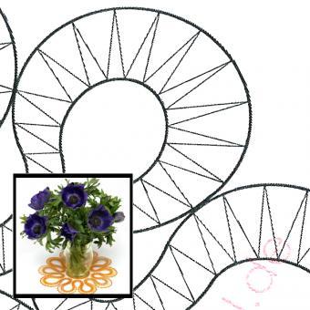 Klöppelbrief Blütendeckchen Ringelblume
