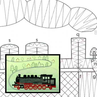 Klöppelbrief Lokomotive BR99