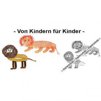 Klöppelbrief 2 Löwen