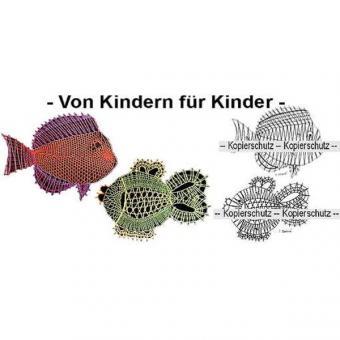 Klöppelbrief 2 Fische