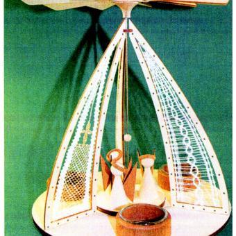 Klöppelbrief Pyramide