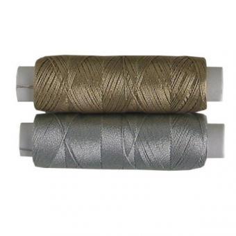 MORAVIA Metallic-Seide