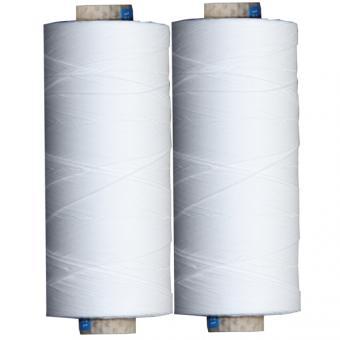 Baumwollgarn zum Klöppeln - weiß