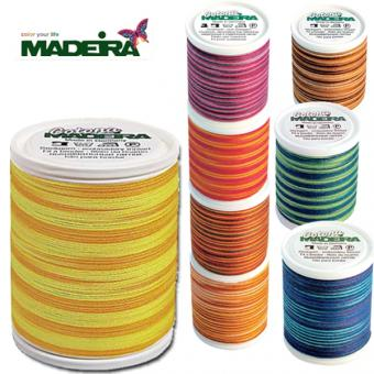 MADEIRA cotton yarn Cotona - Multicolor - No. 30