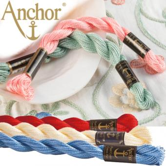 ANCHOR Pearl Cotton No. 5 - Uni-Color