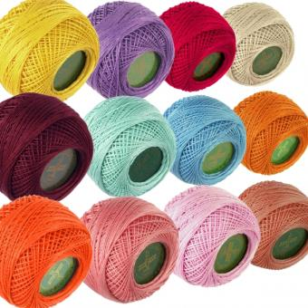 Venus Crochet Cotton Yarn - Strength 70 - Color