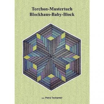 Torchon - Mustertuch Blockhaus-Baby-Block
