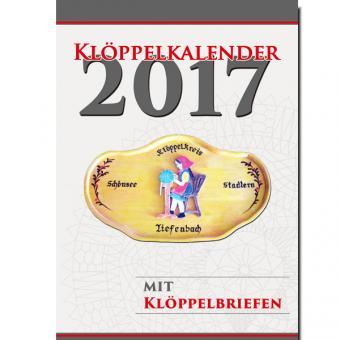 Kalender 2017 - mit Klöppelbriefen