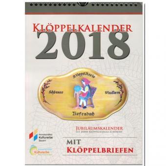 Kalender 2018 - mit Klöppelbriefen