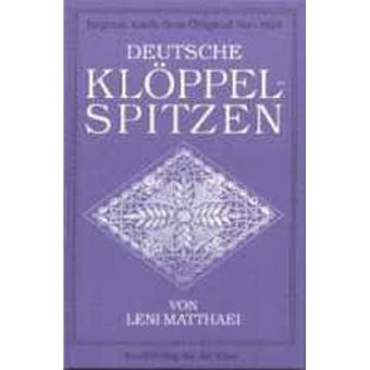 Deutsche Klöppelspitzen - VERGRIFFEN