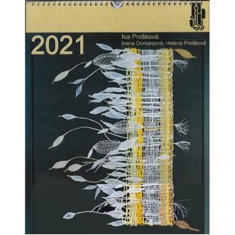 Spitzenkalender 2021 mit Klöppelbriefen