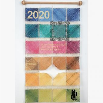Lace-calender 2020 with pattern