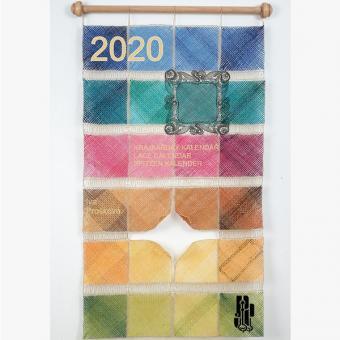Spitzenkalender 2020 mit Klöppelbriefen