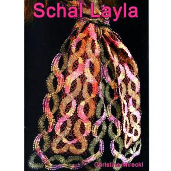 Klöppelbriefe Schal Layla