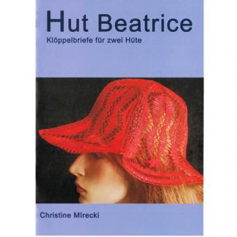 Klöppelbriefe Hut Beatrice
