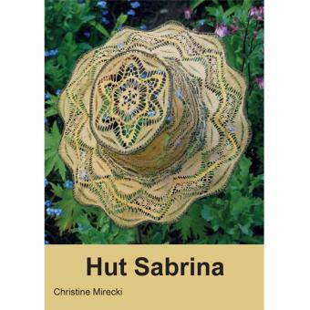 Klöppelbriefe Hut Sabrina
