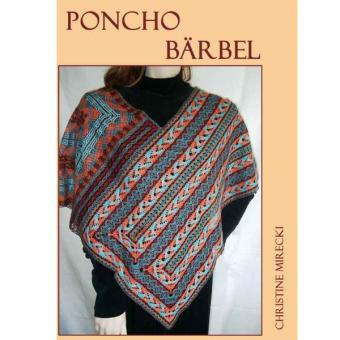 Klöppelbriefe Poncho Bärbel