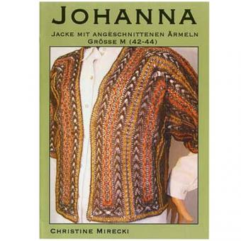 Klöppelbriefe Jacke Johanna