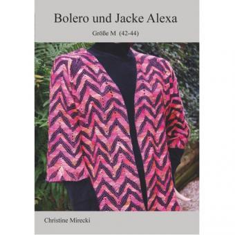 Klöppelbrief Bolero + Jacke Alexa